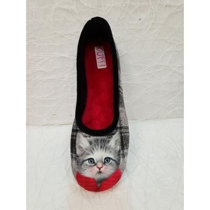 Ballerine chat noire...