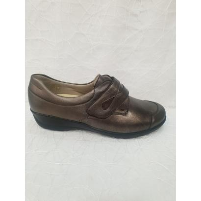 Chaussure cuir strech...