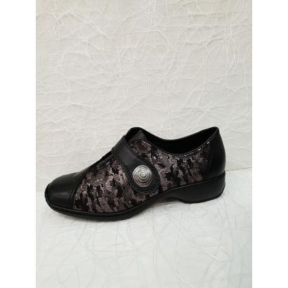 Chaussure velcro imprimée...