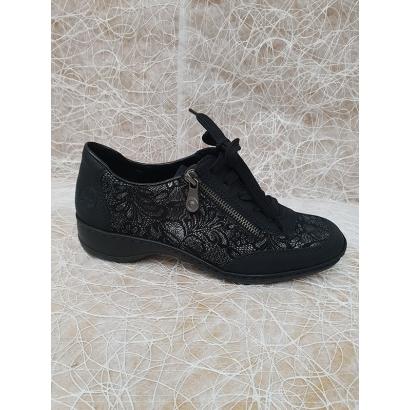 Chaussure imprimée à lacets...