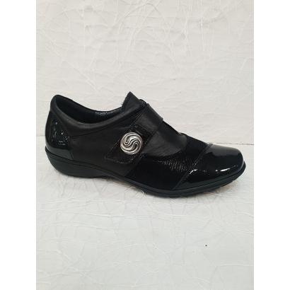 Chaussure à velcro bouton...