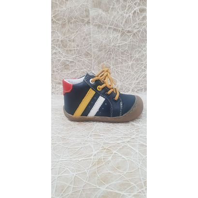 Chaussure à lacets marine Bellamy