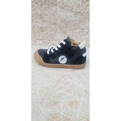 Chaussure à lacets marine étoile Bellamy