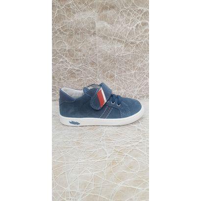 Chaussure velcro bleu Primigi