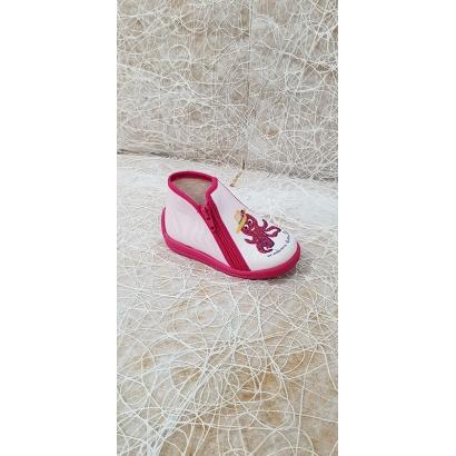 Pantoufles pieuvre rose...