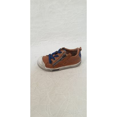 Chaussures à lacets camel GBB
