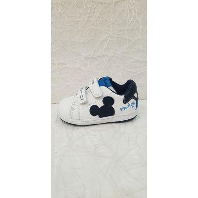 Basket blanche mickey et bleu Geox