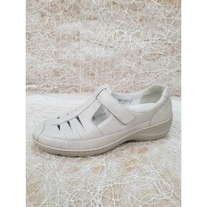 Sandale blanc cassé Waldlaufer