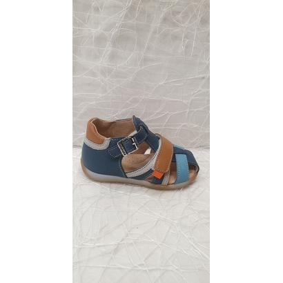 Sandale bleu-multi 1 velcro...