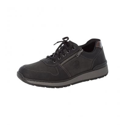 Chaussure avec tirette noir...
