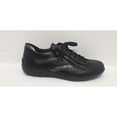 Chaussure à lacets noire...
