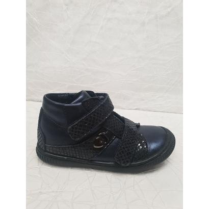 Chaussure 2 velcros bleu...