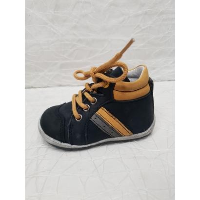 Chaussure à lacets bleu...