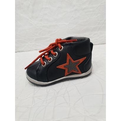 Chaussure à étoile bleu...