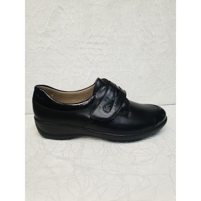 Chaussure cuir strech noire...