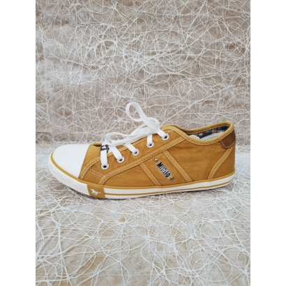 Basket toile ocre Mustang