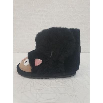 Botte fourrée mouton noire Emu