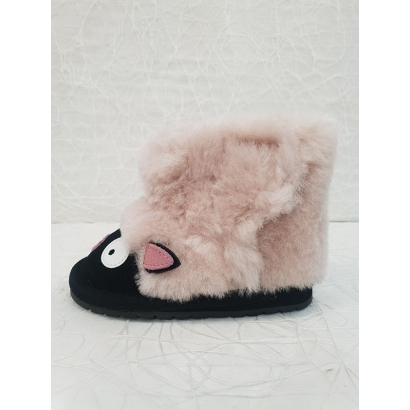 Botte fourée mouton beige Emu
